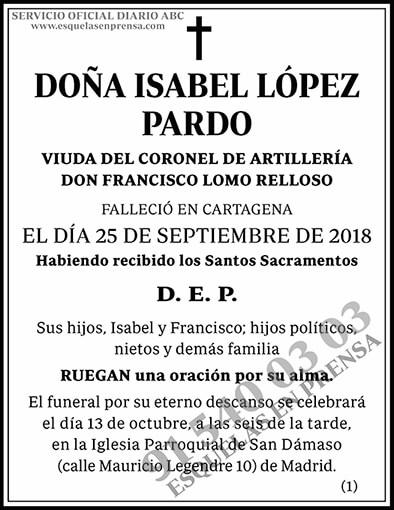 Isabel López Pardo